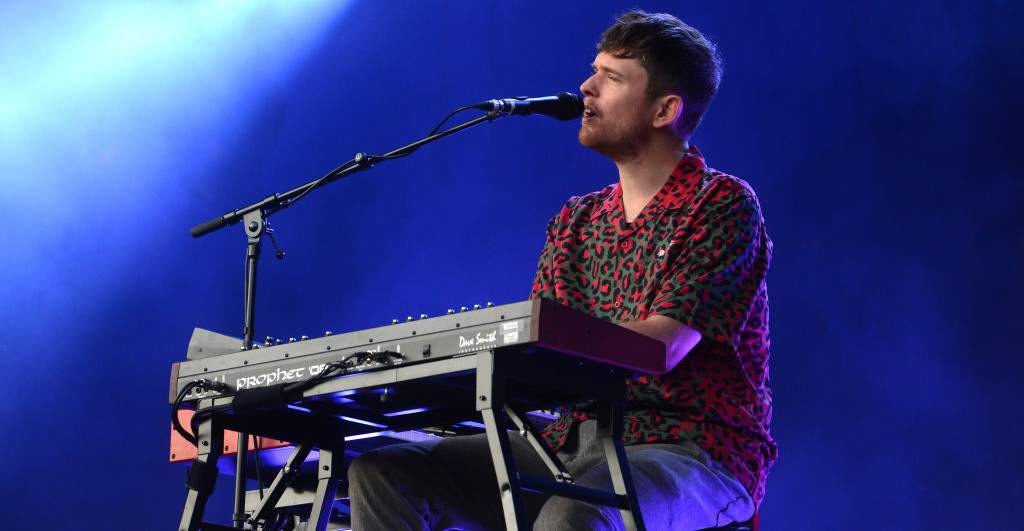 James Blake does a minimalist cover of