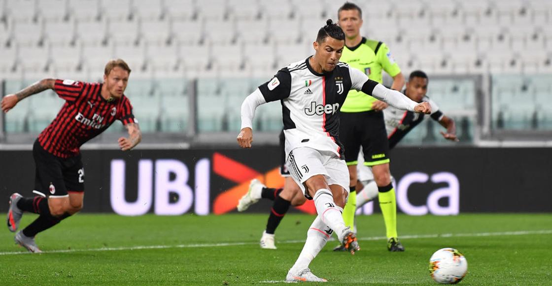Volvió el futbol pero no los goles: Juventus eliminó al Milan de la Coppa Italia
