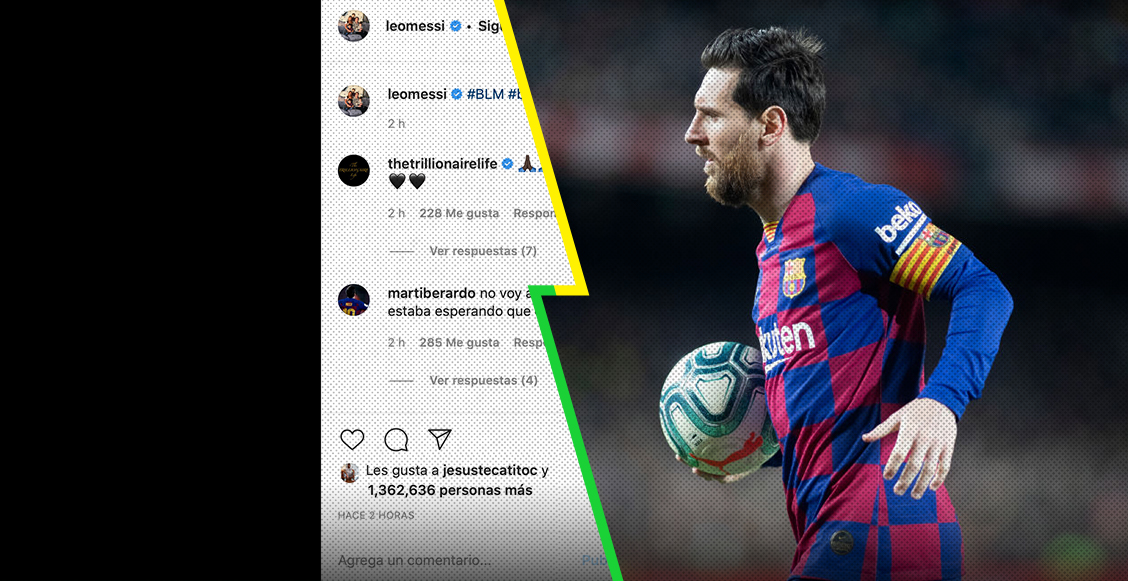 #BlackOutTuesday: Leo Messi se unió a las protestas por la muerte de George Floyd