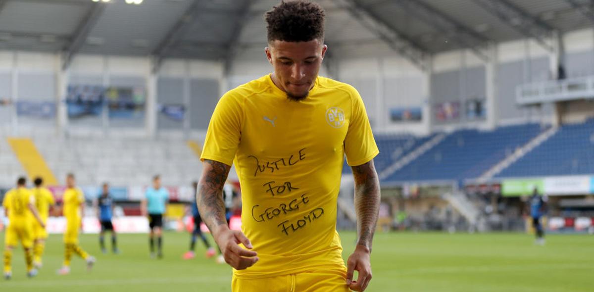 Sentido común: Bundesliga no sancionará a jugadores que mostraron mensajes de apoyo a George Floyd