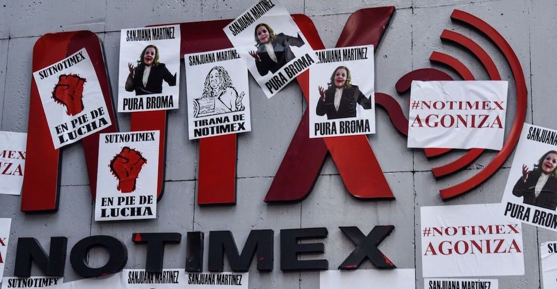 Notimex-huelga-suspension-actividades-sanjuana-martinez