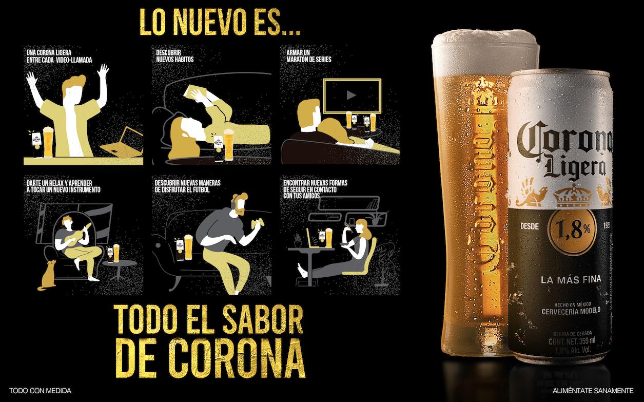 Nueva Corona ligera 1,8