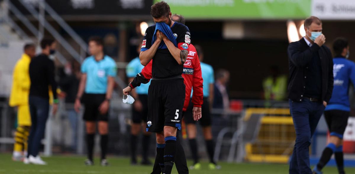 Hasta pronto: Paderborn es el primer equipo descendido de la Bundesliga