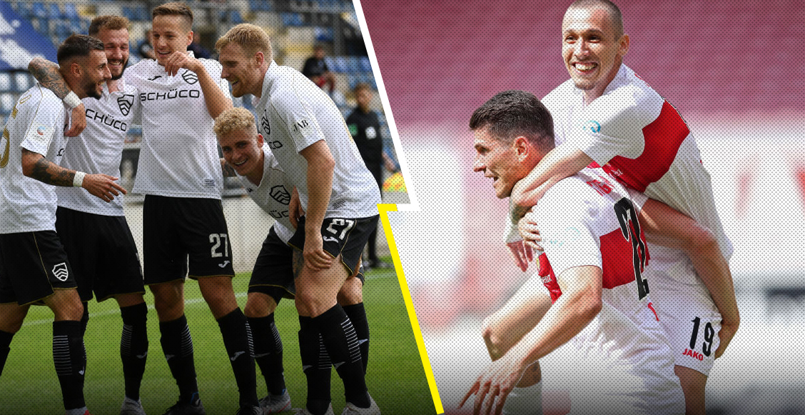 Los equipos que ascendieron a la Bundesliga y el que jugará el play-off ante el Werder Bremen