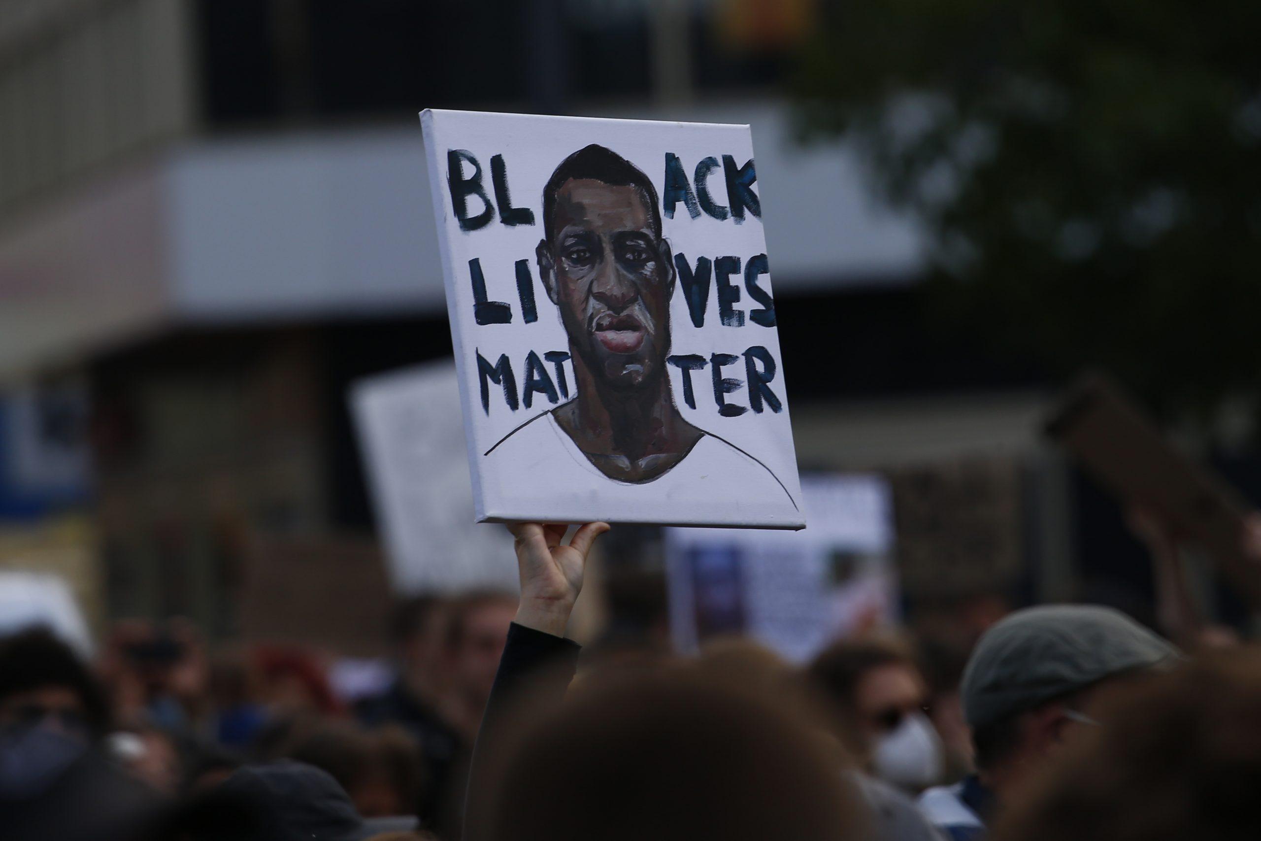 Bansky se une al #BlackLivesMatter