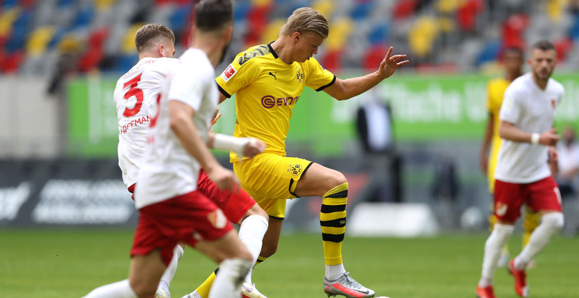 borussia-dortmund-empate-fortuna-dusseldorf-regreso-haaland-titulo-bundesliga.