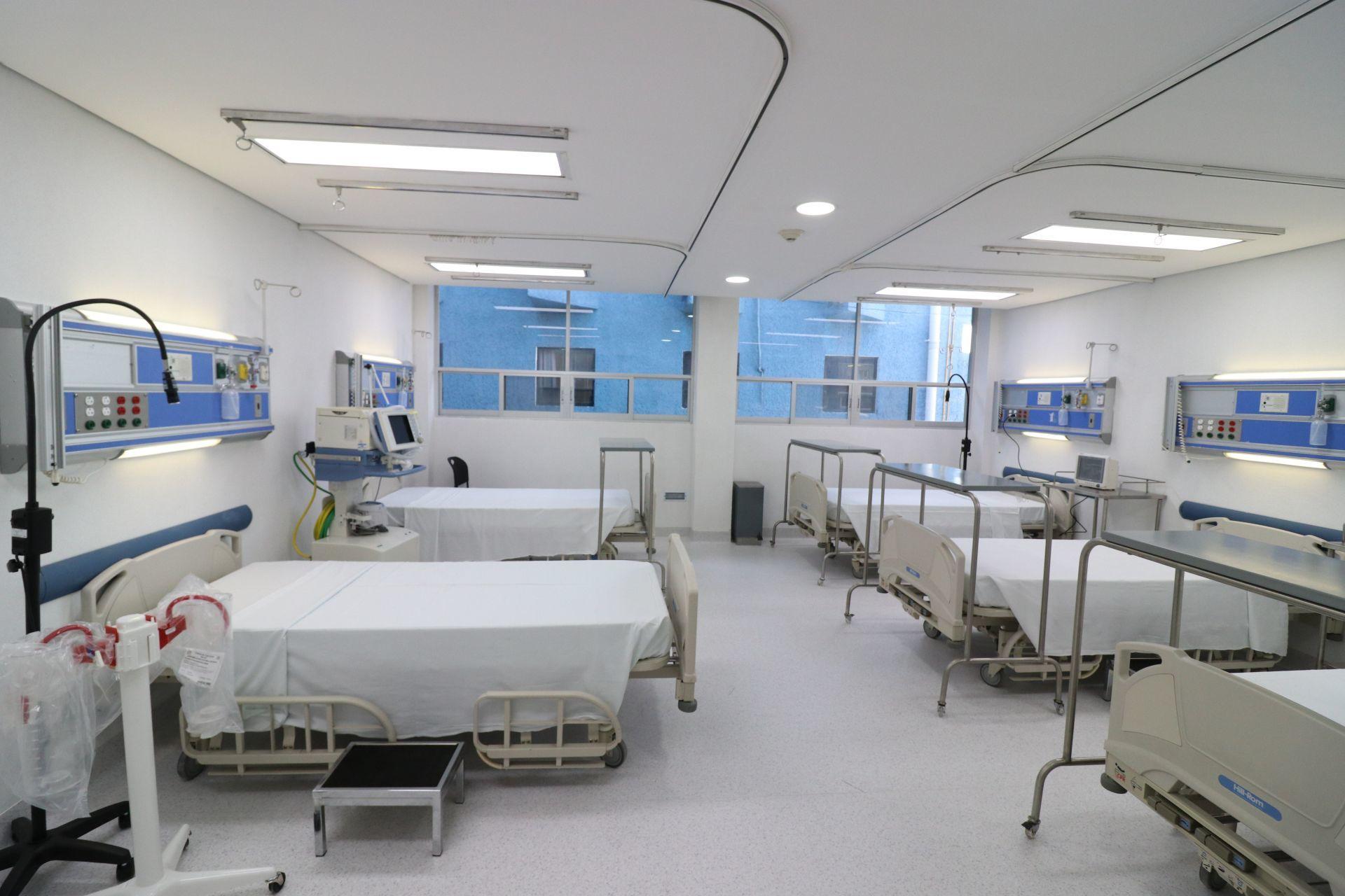 camas hospitales COVID