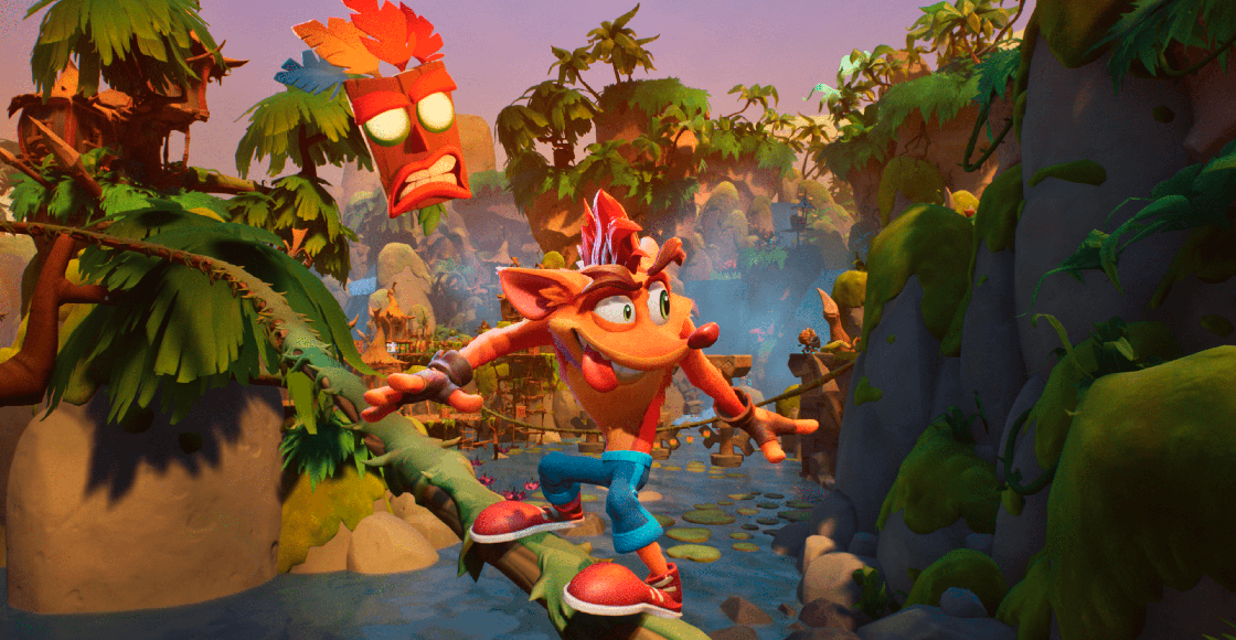 ¡Está de regreso! Checa el impresionante tráiler de 'Crash Bandicoot 4: It's About Time'