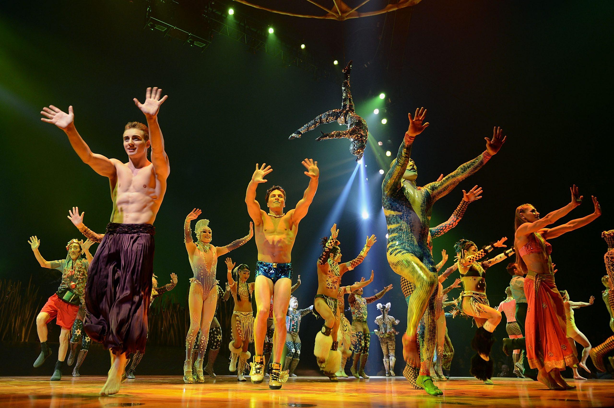 El Cirque du Soleil toma medidas para no ir a la quiebra por el coronavirus