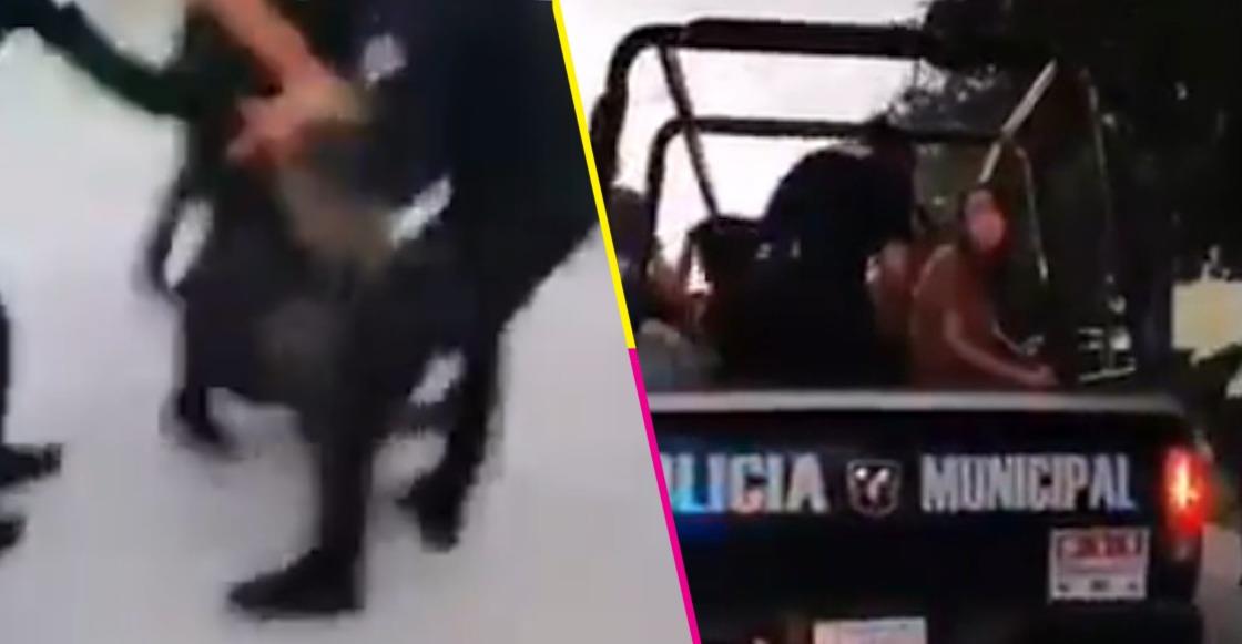 detenciones-torreon-manifestacion-plaza-mayor-policia