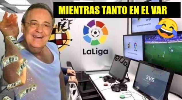 """Memes y reacciones tras el """"robo"""" del Real Madrid ante la Real Sociedad"""