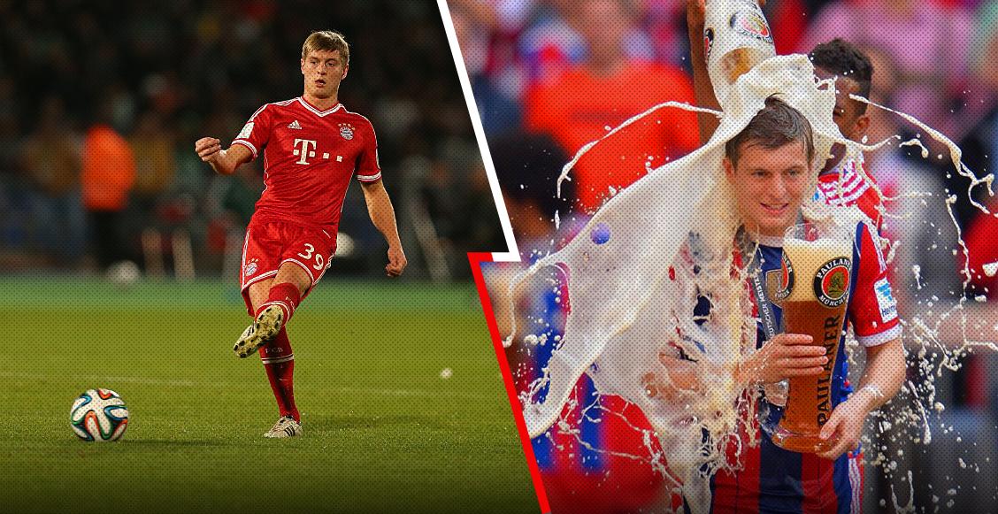 Cuando Toni Kroos se puso una borrachera 'monumental' por culpa del Chelsea