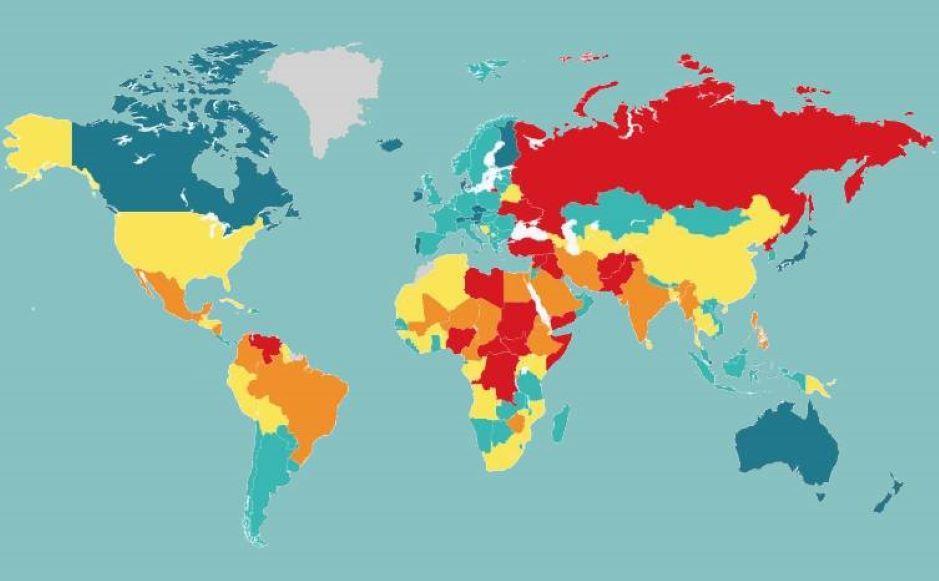 Este es el ranking de los países más seguros del mundo en 2020
