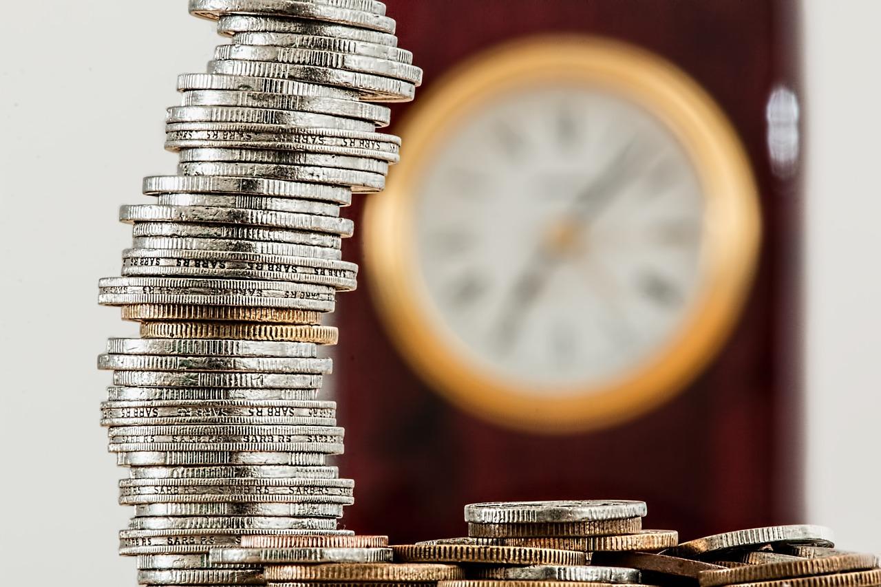 inversion-dinero-tiempo-reloj