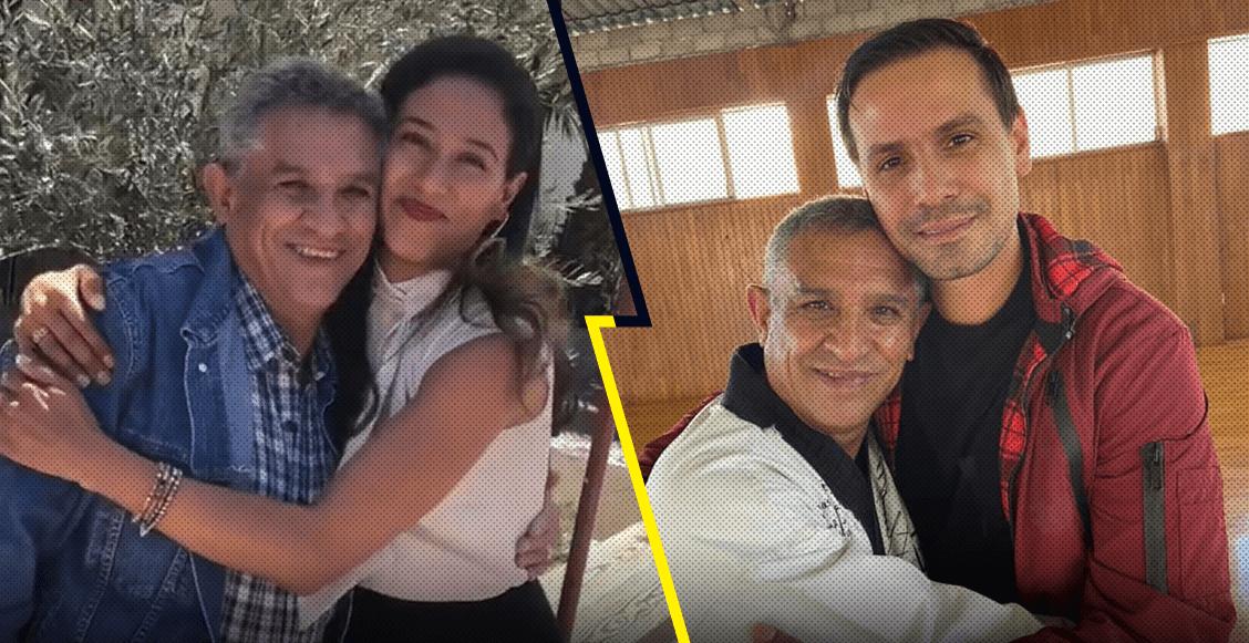 Iridia y Óscar Salazar comparten el fallecimiento de su padre, por complicaciones de coronavirus