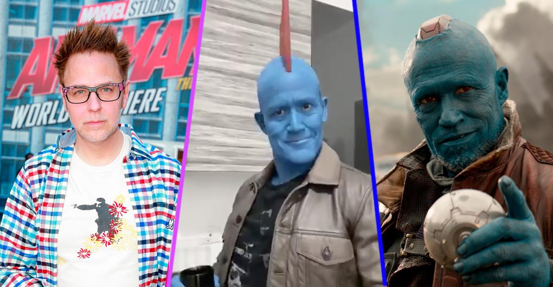 Es que sí: James Gunn se rindió al Tik Tok de 'Matador' Hernández como Yondu
