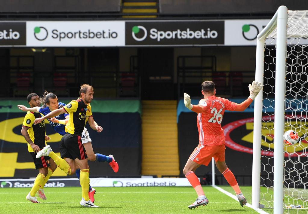 Leicester volvió a sacar puntos de casa del Watford 4 años después