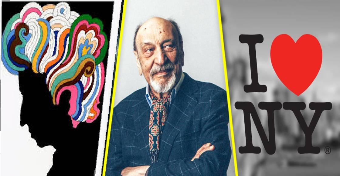 Muere Milton Glaser, diseñador del icónico logotipo de I❤NY