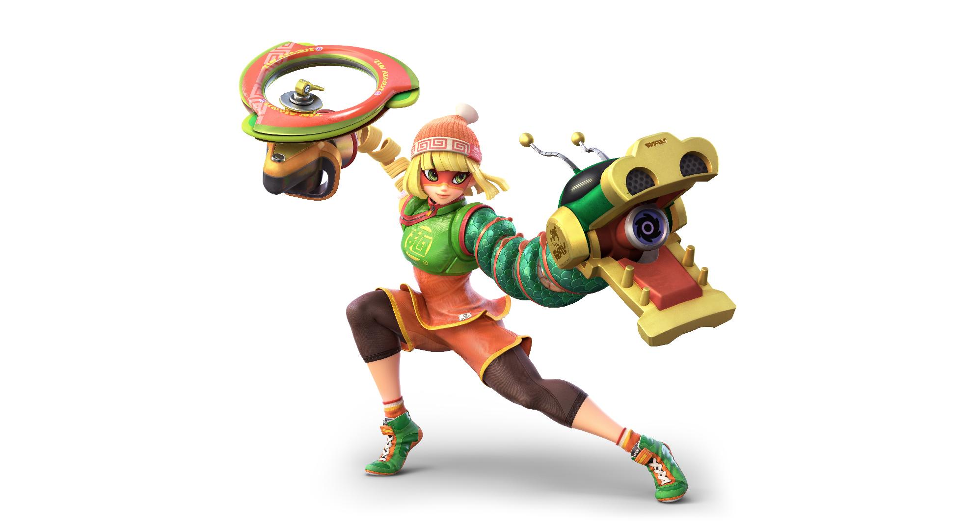 ¡Min Min será uno de los nuevos personajes en 'Super Smash Bros. Ultimate'!