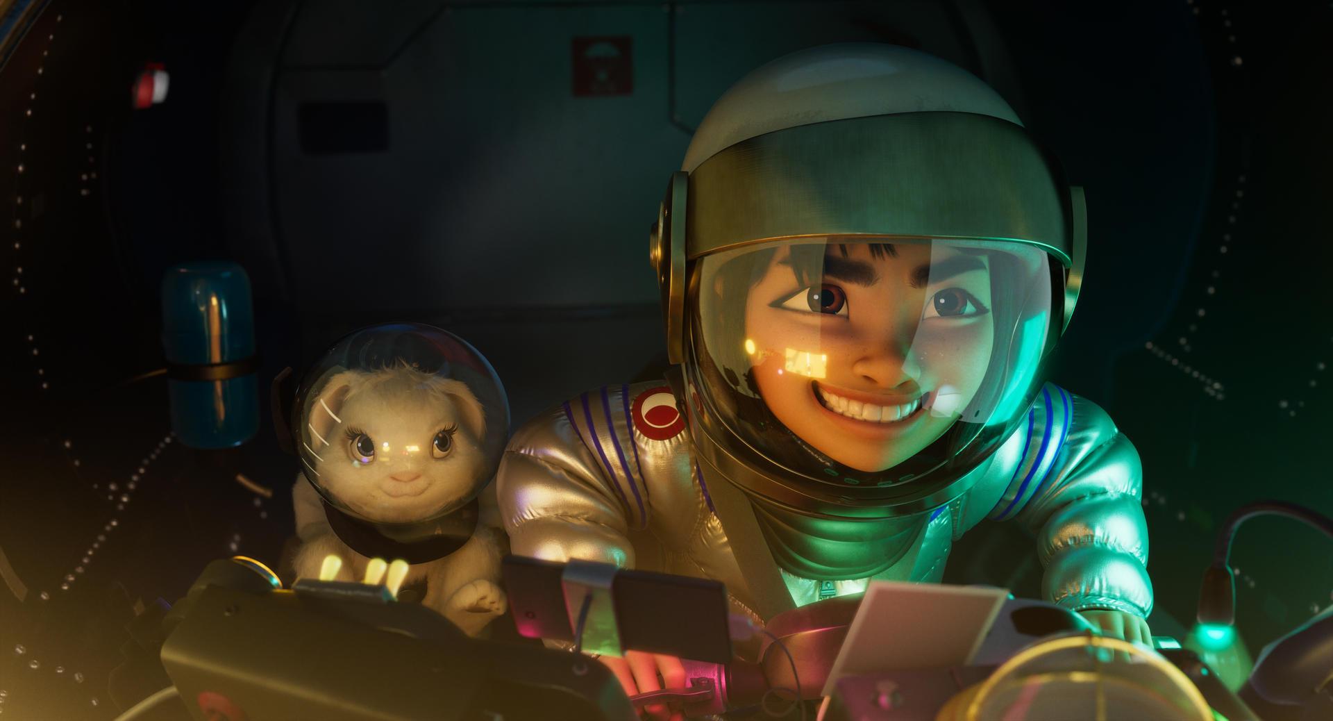 Netflix revela las primeras imágenes y el tráiler de 'Over The Moon'