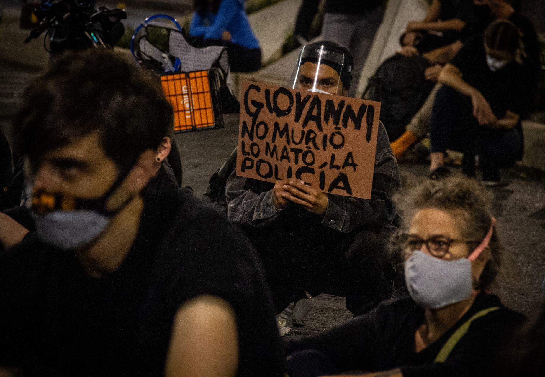 detenidos por el caso de Giovanni López