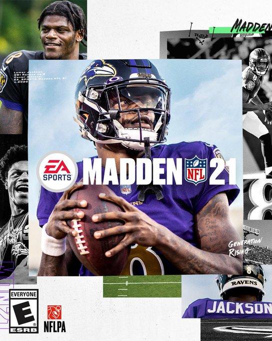 Lamar Jackson, la portada y el tráiler: Estas son las novedades del Madden 21