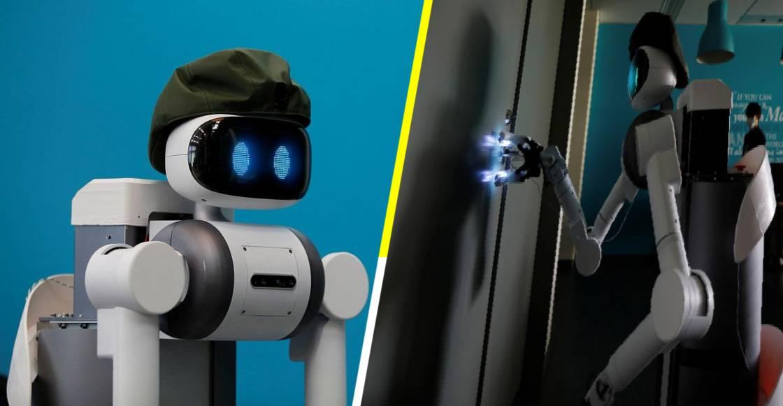 """""""Ugo"""", el robot japonés que aniquila el COVID-19 con luz ultravioleta"""