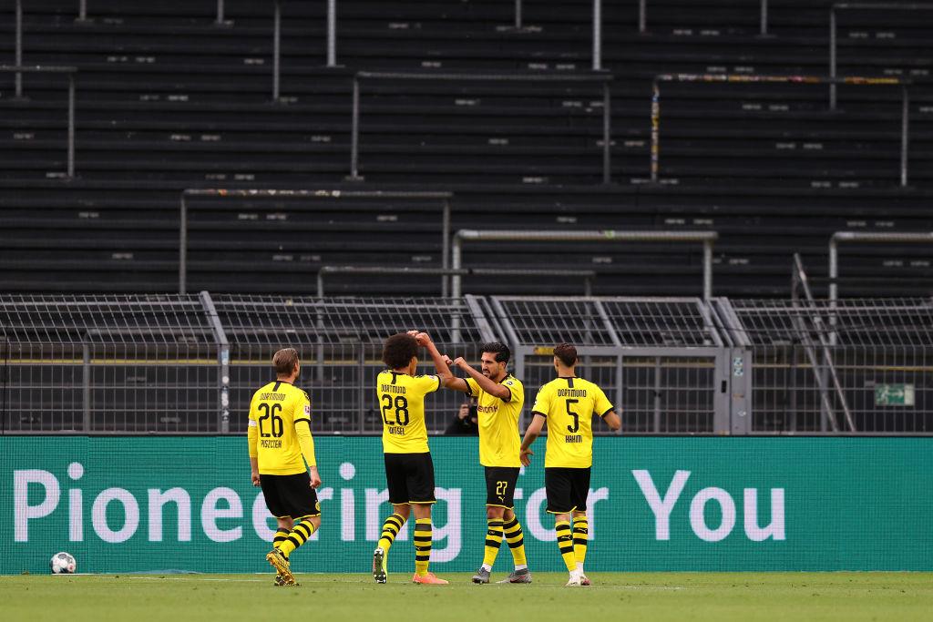 El mensaje contra el racismo y la necesidad de milagro: Borussia Dortmund venció al Hertha Berlín