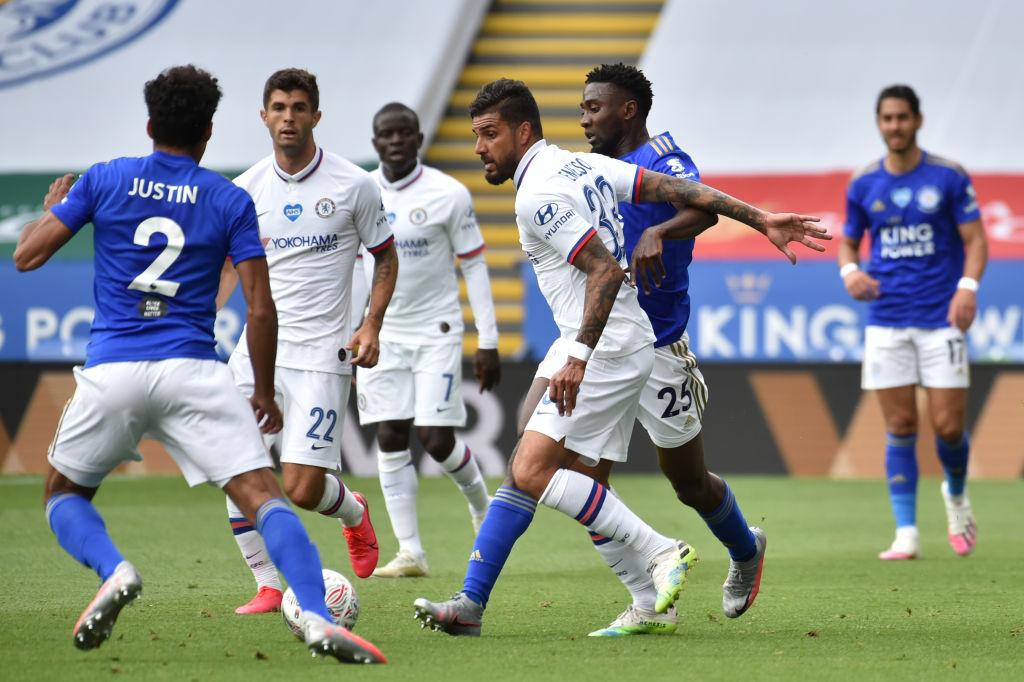 5 al hilo para el Chelsea: Lampard y compañía eliminan al Leicester de la FA Cup