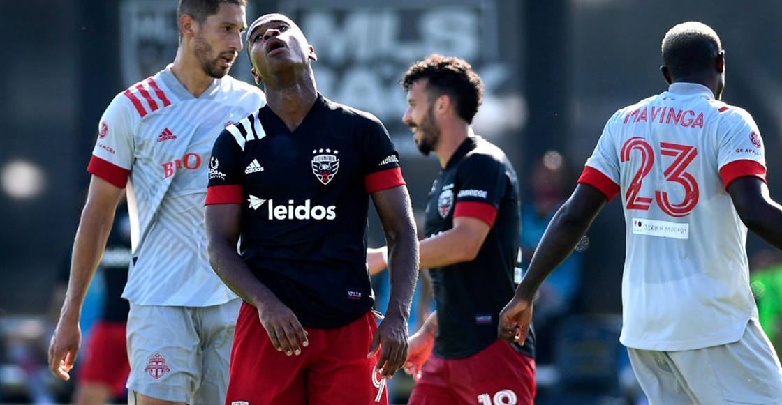 Dos goles en 7 minutos doblete de Akinola y golazo de Higuaín: Así fue el empate entre Toronto y DC United en la MLS