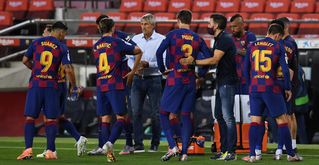 Champions League: La última esperanza del Barcelona y Quique Setién