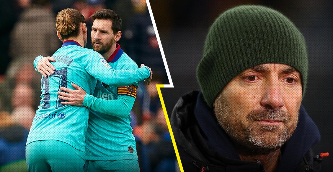 """Dugarry le pidió a Griezmann enfrentar al """"enano y medio autista"""" Messi"""