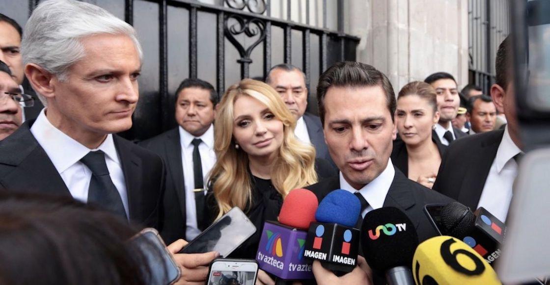 Desconoce AMLO si Peña Nieto está bajo custodia policial en España