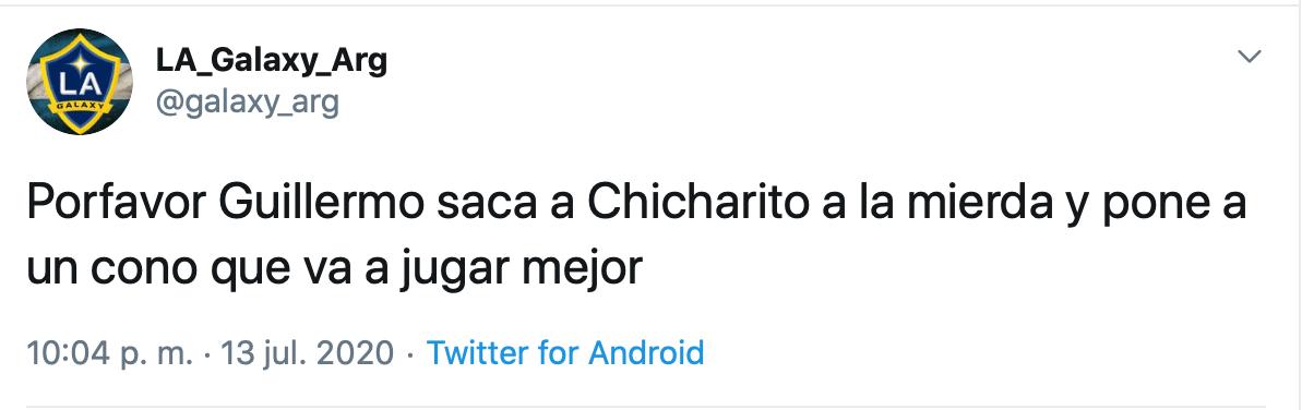 El penal que falló el 'Chicharito'