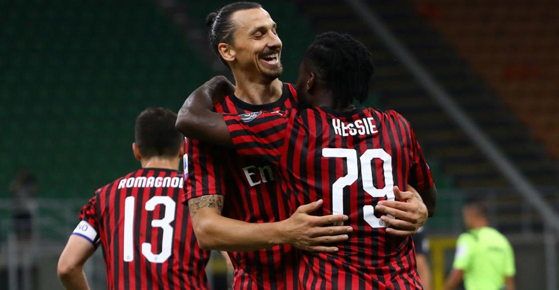 Cristiano y Zlatan anotaron: Milan le remontó a la Juventus en 5 minutos