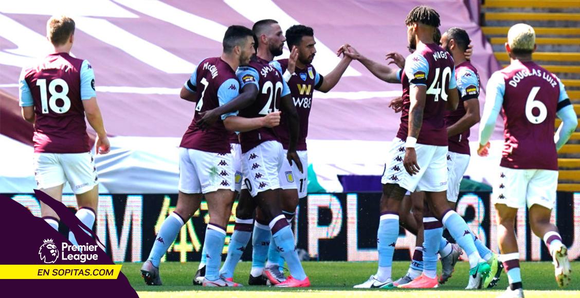 """El VAR le """"robó"""" un gol al Crystal Palace y Aston Villa sueña con la salvación"""