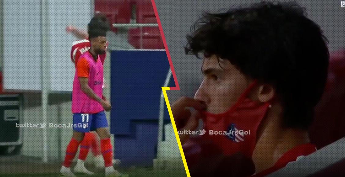 Oye, tranquilo: El monumental berrinche de Joao Félix tras salir de cambio en el triunfo del Atlético de Madrid sobre el Mallorca