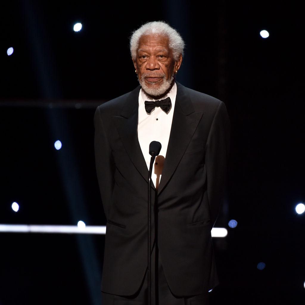 El emotivo discurso de Morgan Freeman en el Opening Day de la MLB