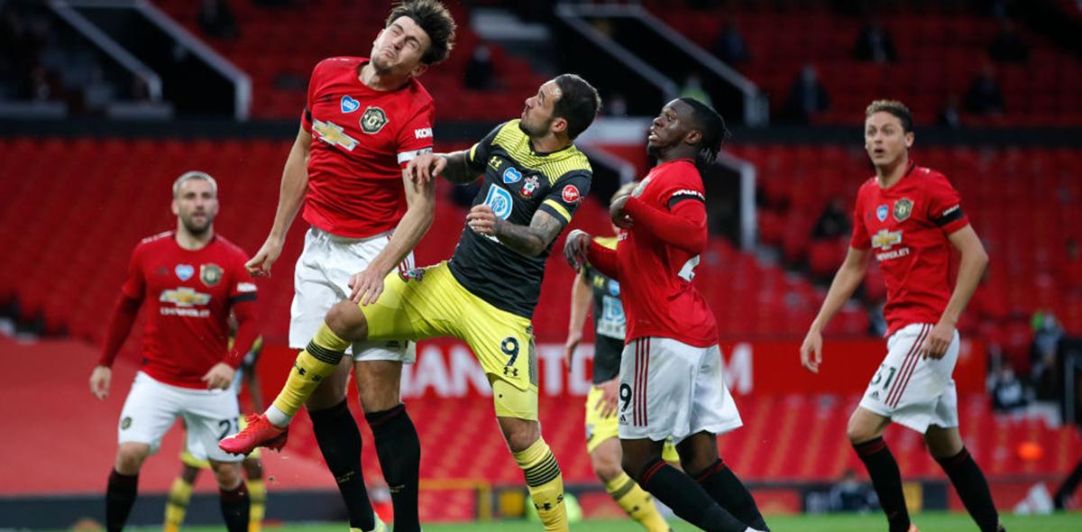 A lo Premier League: Southampton le sacó el empate al Manchester United y complica su regreso a Champions League