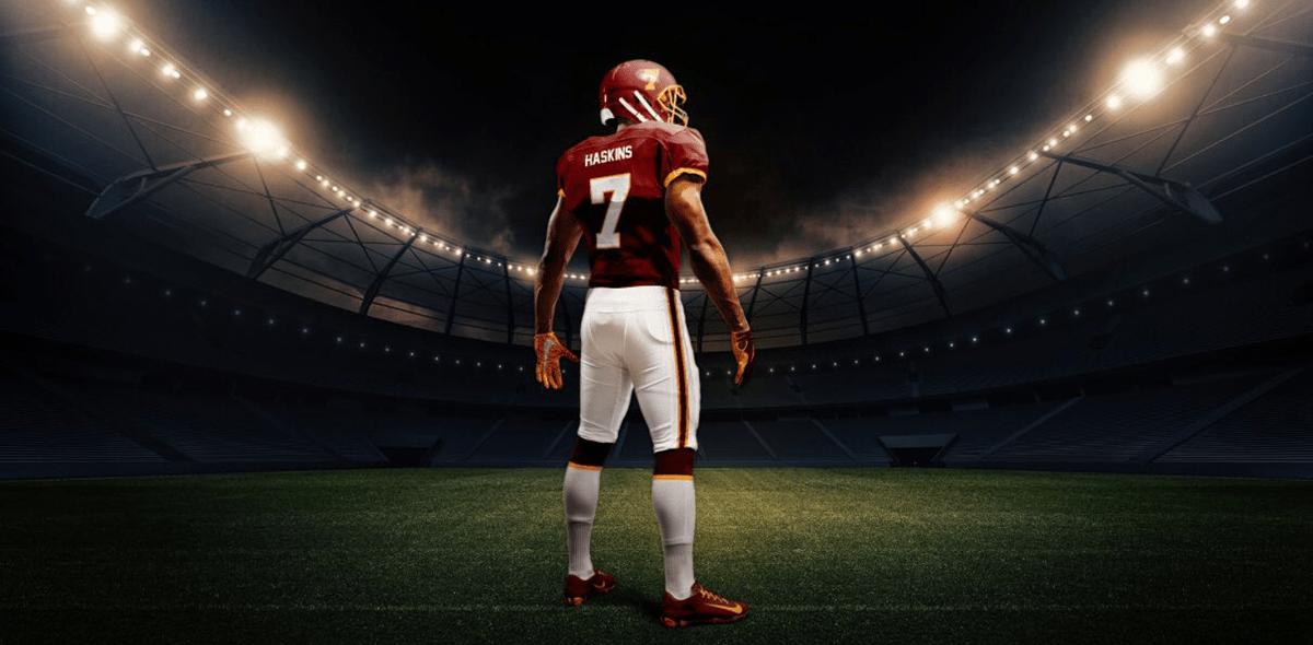 Nombre, uniformes y cascos: Así jugará Washington en la NFL