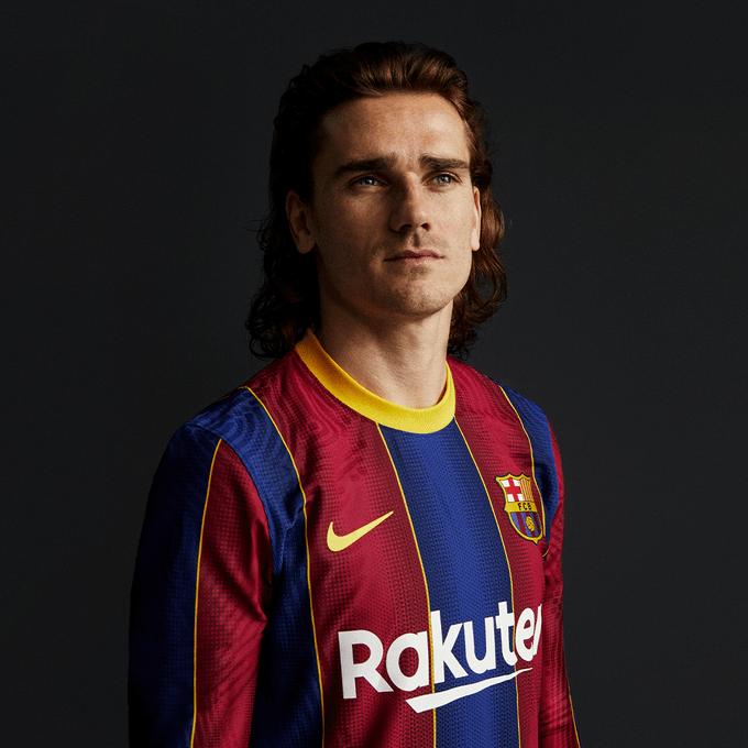 ¡Adiós cuadros! Barcelona presentó su nuevo uniforme con Messi y Griezmann