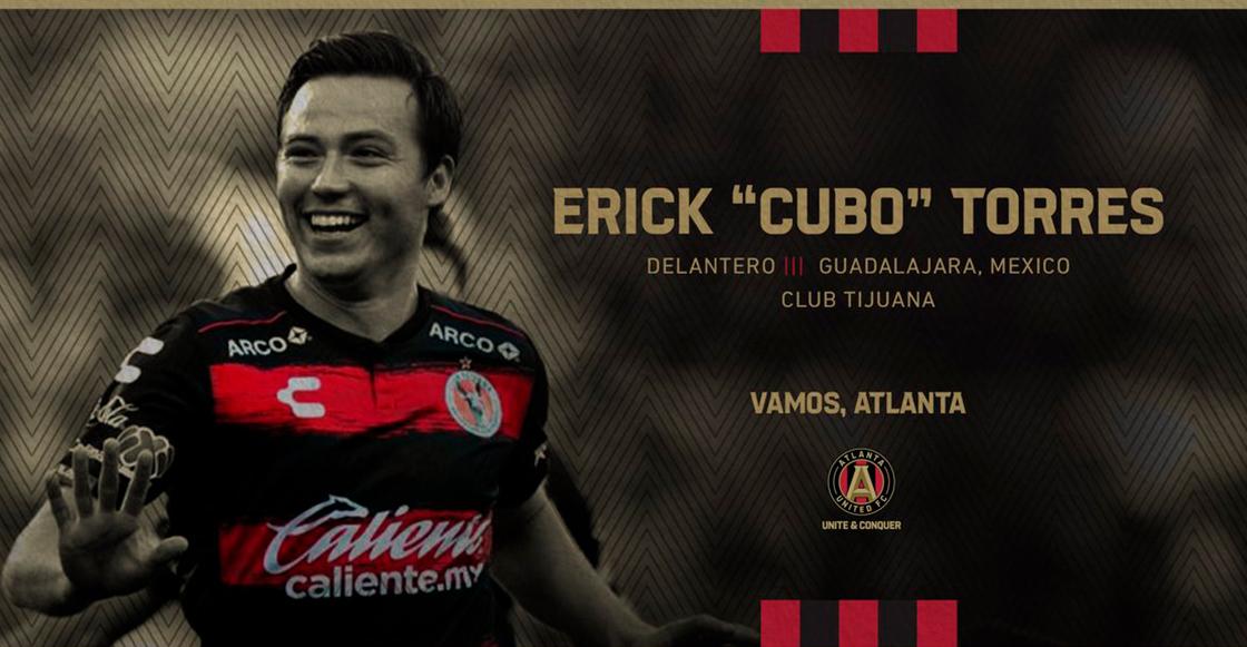 ¡Dupla mexicana! Atlanta United anunció el fichaje de Erick el 'Cubo' Torres