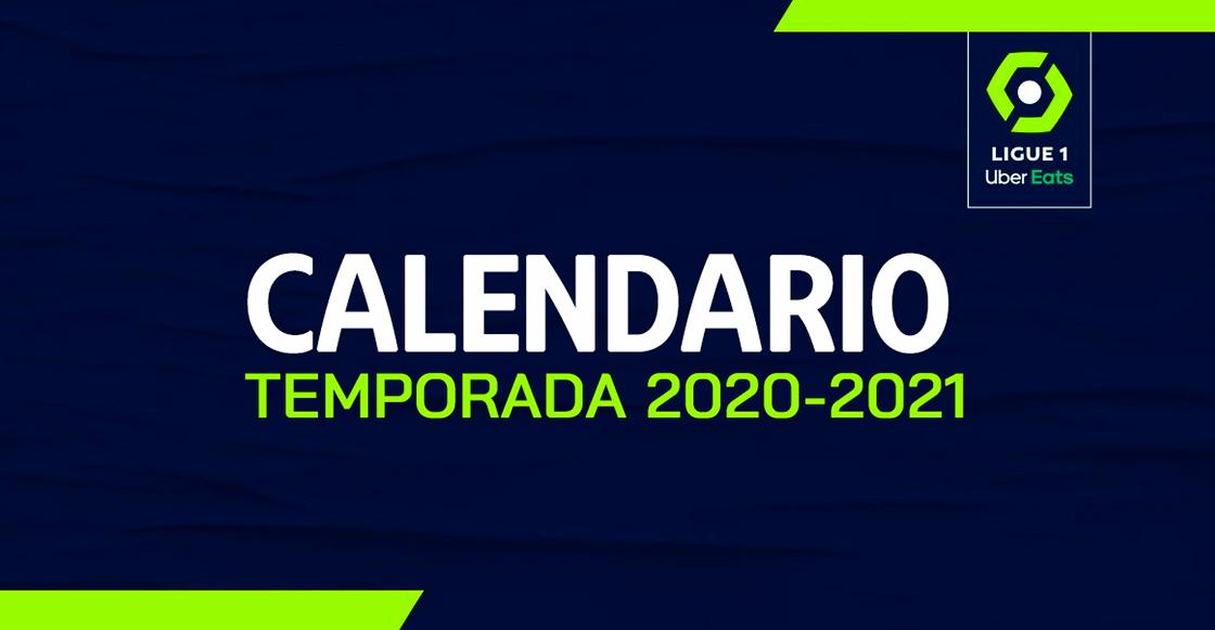 ¡Es oficial! Este es el calendario completo de la Ligue 1 2020 2021