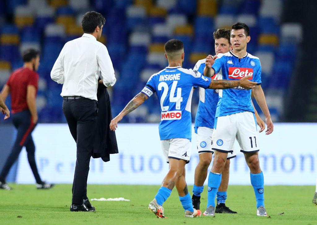 Gattuso volvió a hablar de Lozano