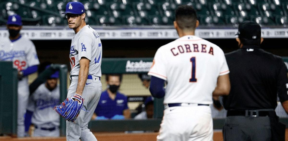 ¡Se vaciaron las bancas! Así fue la bronca entre Astros y Dodgers con Joe Kelly como protagonista