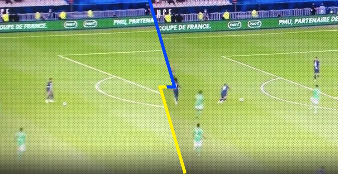 ¿Fue el viento? La caída de Neymar en la victoria del PSG sobre el Saint Etienne en la final de la Copa de Francia