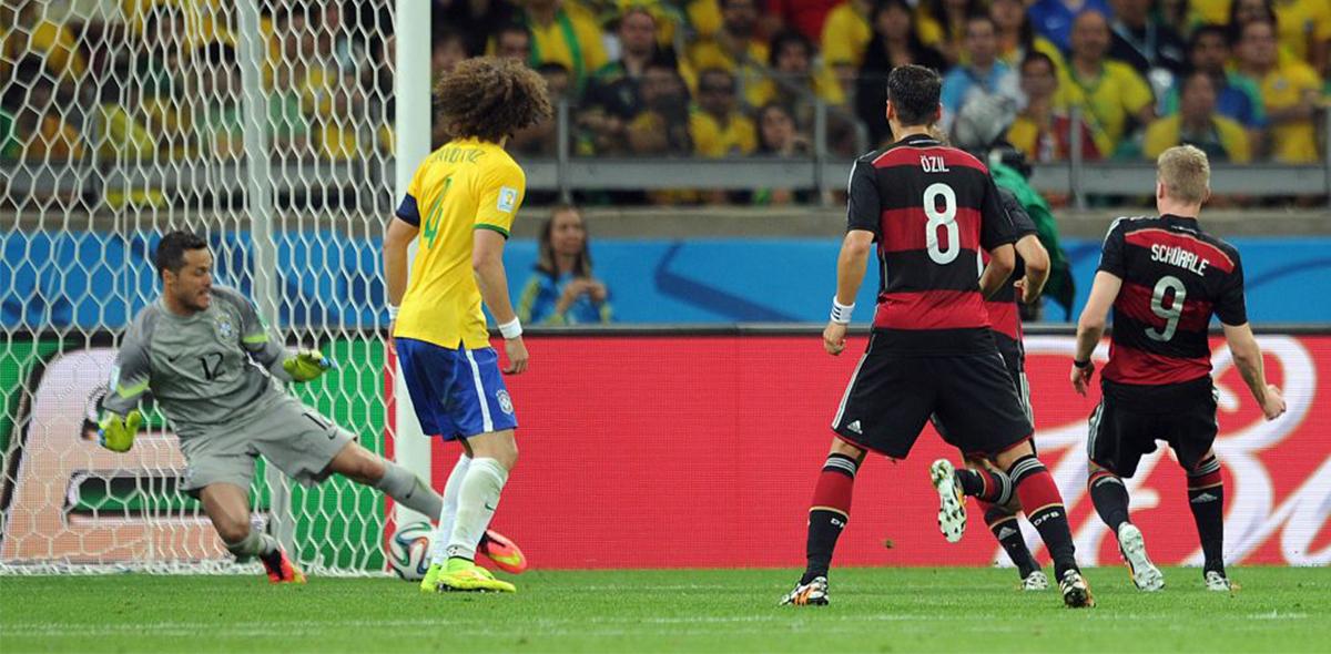 Los 3 récords que se rompieron en el histórico 7-1 de Alemania sobre Brasil