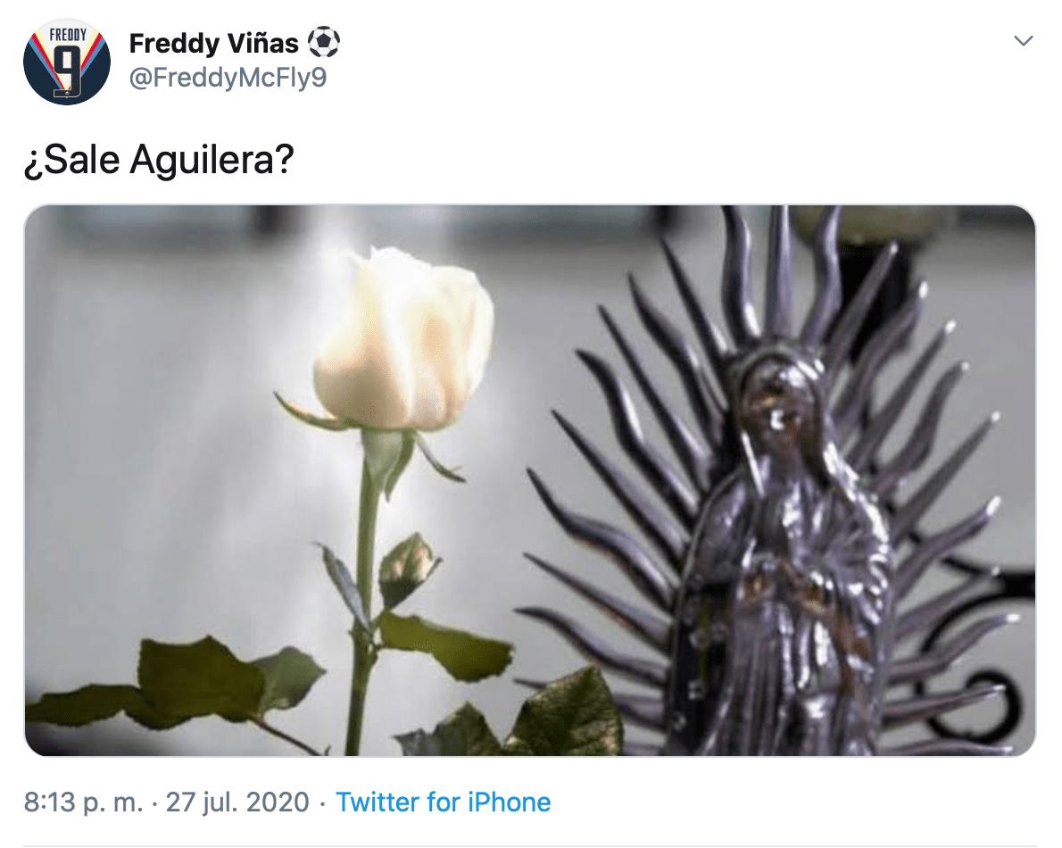 """¿Y esta rosa? La afición del América """"celebró"""" la lesión de Emmanuel Aguilera en el Pachuca vs América"""