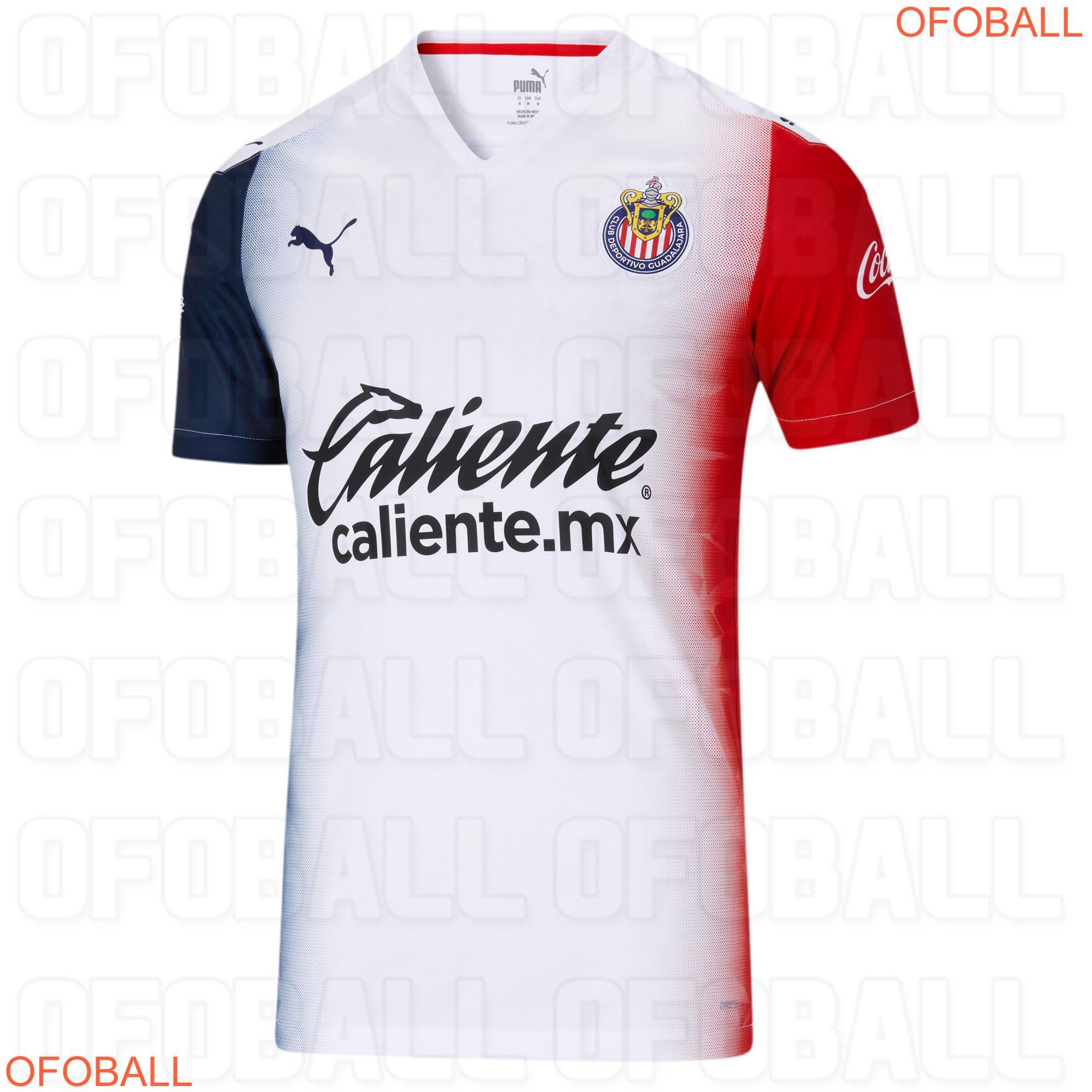 Único y polémico: Este sería el jersey de Chivas como visitante para el Apertura 2020