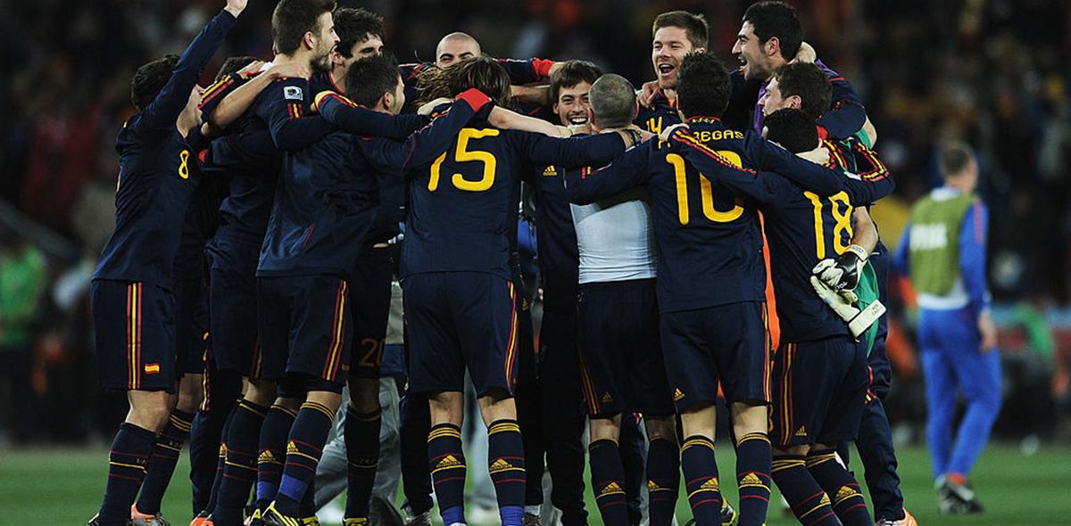 Las curiosidades que no sabías de la Selección de España campeona en Sudáfrica 2010